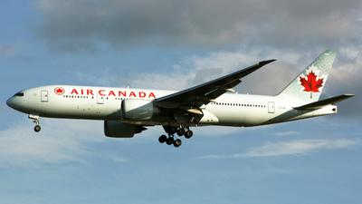 C-FIVK - Boeing 777-233LR - Air Canada
