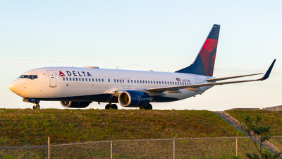 A picture of N3773D - Boeing 737832 - Delta Air Lines - © Turbok