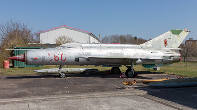 560 - Mikoyan-Gurevich MiG-21M Fishbed J - German Democratic Republic - Air Force