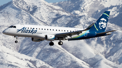 A picture of N649QX - Embraer E175LR - Alaska Airlines - © John Marzo