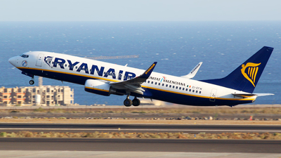 EI-EFW - Boeing 737-8AS - Ryanair