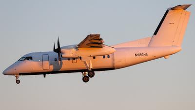 A picture of N989HA - De Havilland Canada Dash 8200 - Berry Aviation - © Shon Fridman