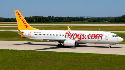 A picture of TCCPM - Boeing 73782R - Pegasus Airlines - © Martin Tietz