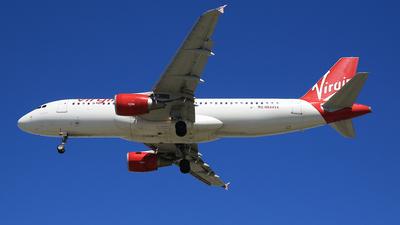 N844VA - Airbus A320-214 - Virgin America
