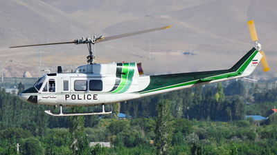 1702 - Bell 214B - Iran - Police Aviation