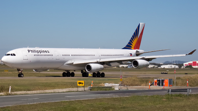 RP-C3441 - Airbus A340-313X - Philippine Airlines