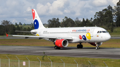 HK-5125 - Airbus A320-214 - VivaColombia