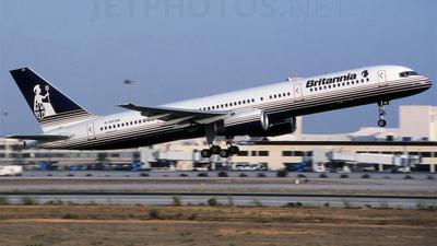 G-BYAN - Boeing 757-204 - Britannia Airways