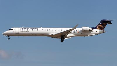 D-ACNA - Bombardier CRJ-900LR - Lufthansa Regional (CityLine)