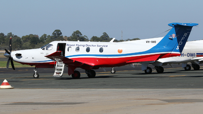 VH-IWO - Pilatus PC-12/47E - Royal Flying Doctor Service of Australia (Western Operations)