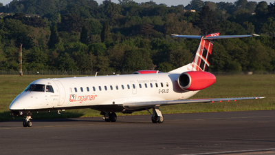 G-SAJD - Embraer ERJ-145EP - Loganair