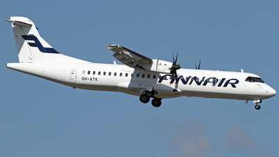 OH-ATK - ATR 72-212A(500) - Finnair (Nordic Regional Airlines NORRA)