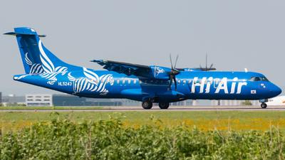 A picture of HL5243 - ATR 72500 - Hi Air - © JIN HL7743