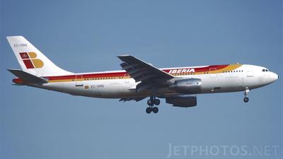 EC-DNQ - Airbus A300B4-120 - Iberia