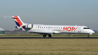 F-GRZN - Bombardier CRJ-702 - HOP! for Air France