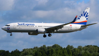 TC-SNG - Boeing 737-8HC - SunExpress