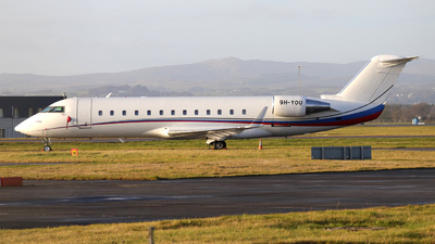 9H-YOU - Bombardier CL-600-2B19 Challenger 850 - Air X Charter