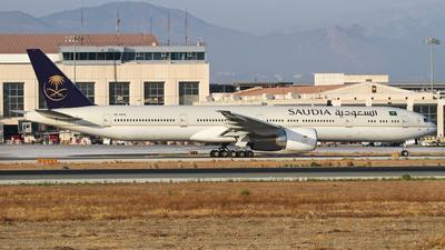 HZ-AK45 - Boeing 777-368ER - Saudi Arabian Airlines