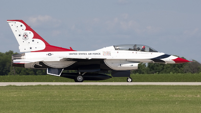 92-3890 - General Dynamics F-16C Fighting Falcon - United States - US Air Force (USAF)
