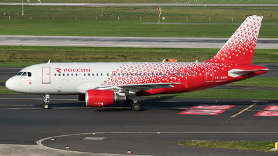 VQ-BAR - Airbus A319-111 - Rossiya Airlines