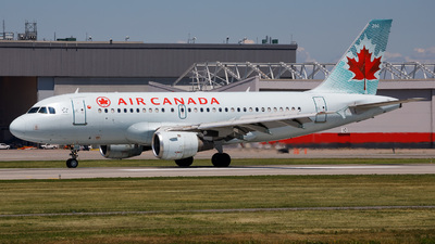 A picture of CFYKC - Airbus A319114 - Air Canada - © AMelotti