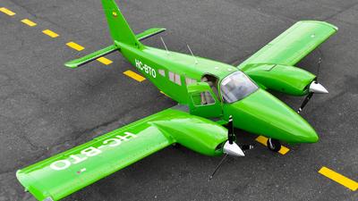 HC-BTO - Piper PA-34-220T Seneca III - Fumipalma