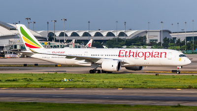 A picture of ETAUB - Airbus A350941 - Ethiopian Airlines - © ChaleLu