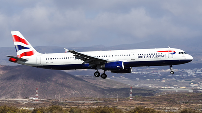G-TTIF - Airbus A321-231 - British Airways (GB Airways)