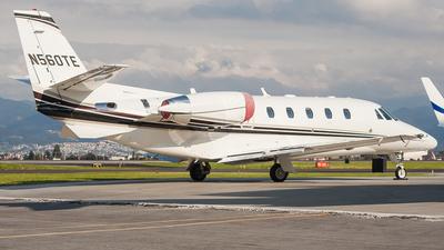 N560TE - Cessna 560XL Citation XLS Plus - Private