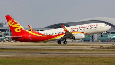 B-7618 - Boeing 737-84P - Hainan Airlines