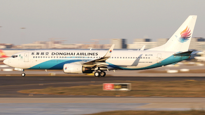 A picture of B1770 - Boeing 7378Q8 - Donghai Airlines - © 266R.Brake