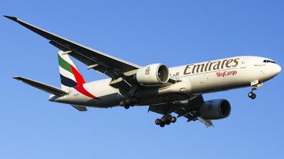 A picture of A6EFI - Boeing 777F1H - Emirates - © Maciej Bartnik