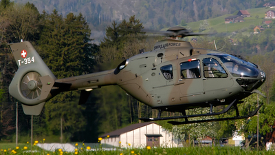 T-354 - Eurocopter EC 635P2+ - Switzerland - Air Force