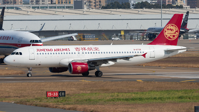 B-6736 - Airbus A320-214 - Juneyao Airlines