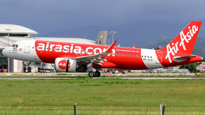 A picture of 9MAGW - Airbus A320251N - AirAsia - © Kody Chin