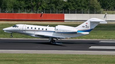 HB-JEZ - Cessna 750 Citation X - Private
