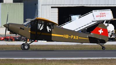 A picture of HBPAX - Piper PA18150 Super Cub - [188193] - © Paul Denton