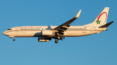 CN-ROP - Boeing 737-8B6 - Royal Air Maroc (RAM)