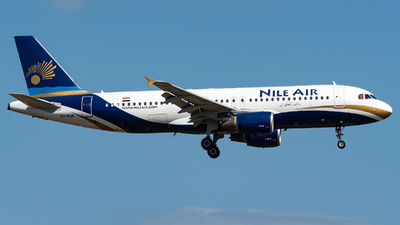 SU-BQK - Airbus A320-214 - Nile Air