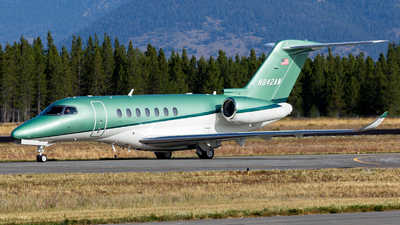 N842AW - Cessna Citation Longitude - Private