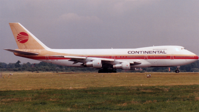 N10024 - Boeing 747-238B - Continental Airlines