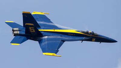 165540 - Boeing F/A-18E Super Hornet - United States - US Navy (USN)