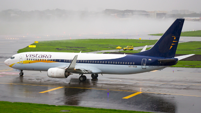 VT-TGB - Boeing 737-8AL - Vistara