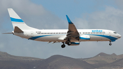 SP-ESE - Boeing 737-8Q8 - Enter Air