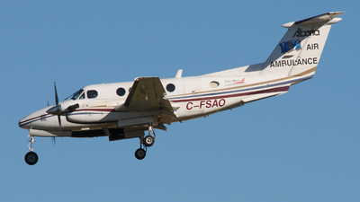 C-FSAO - Beechcraft 200 Super King Air - Can-West Air