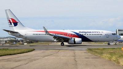 9M-MXH - Boeing 737-8H6 - Malaysia Airlines