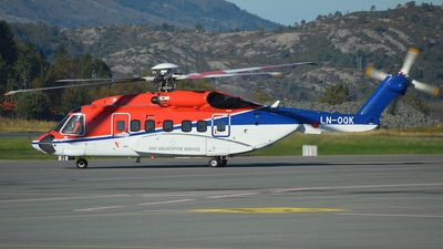 LN-OQK - Sikorsky S-92A Helibus - CHC Helikopter Service