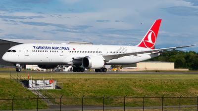 TC-LLA - Boeing 787-9 Dreamliner - Turkish Airlines