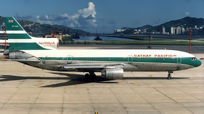 VR-HHK - Lockheed L-1011-100 Tristar - Cathay Pacific Airways