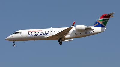 ZS-NMD - Bombardier CRJ-200ER - SA Express